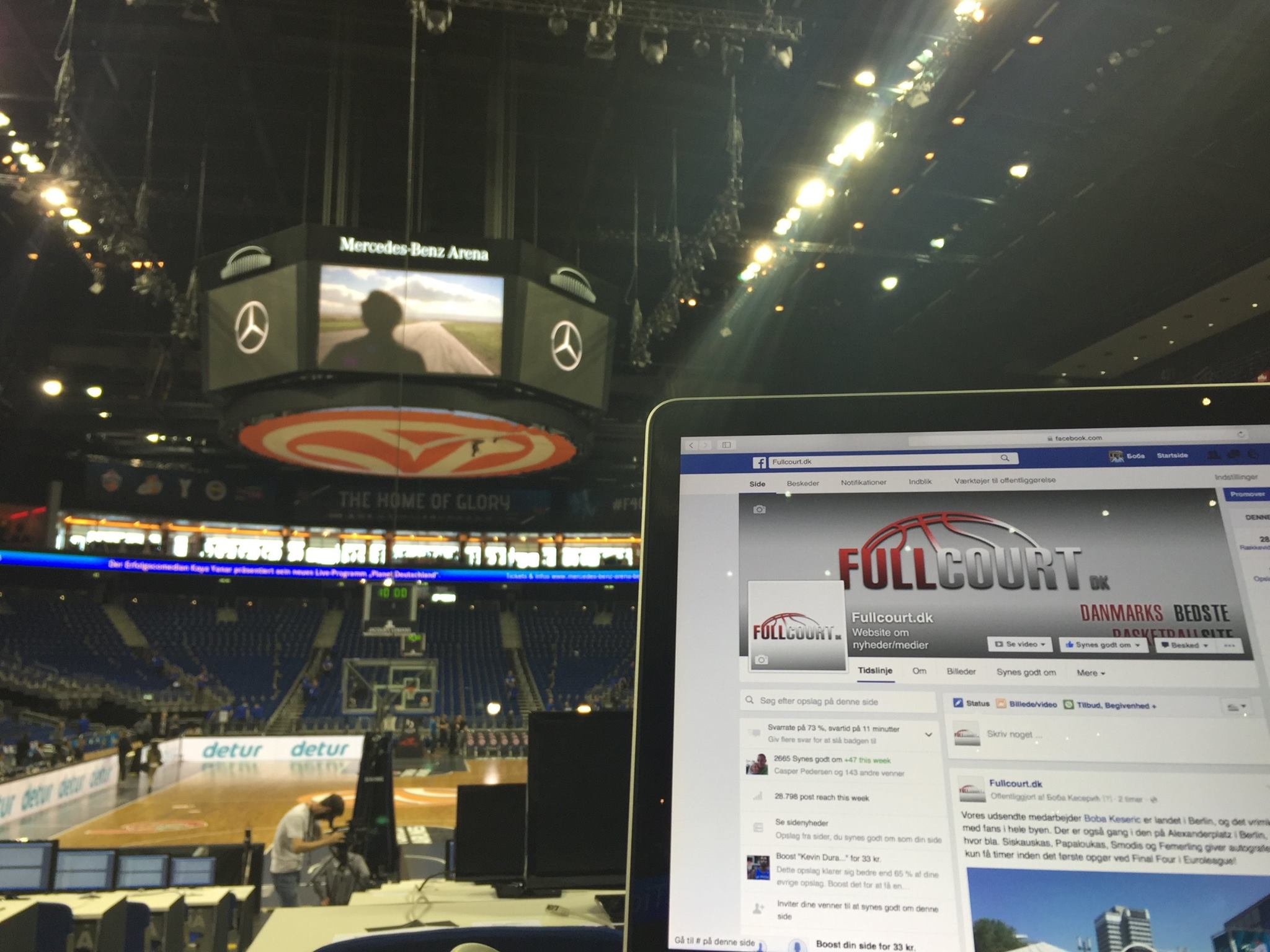 En af vores skribenter fik presseadgang til Euroleague Final Four i 2016, det kan måske blive dig.