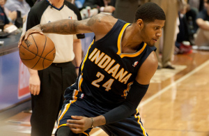Paul George - Indiana Pacers - Mark RunyonPaul George - Indiana Pacers - Mark Runyon