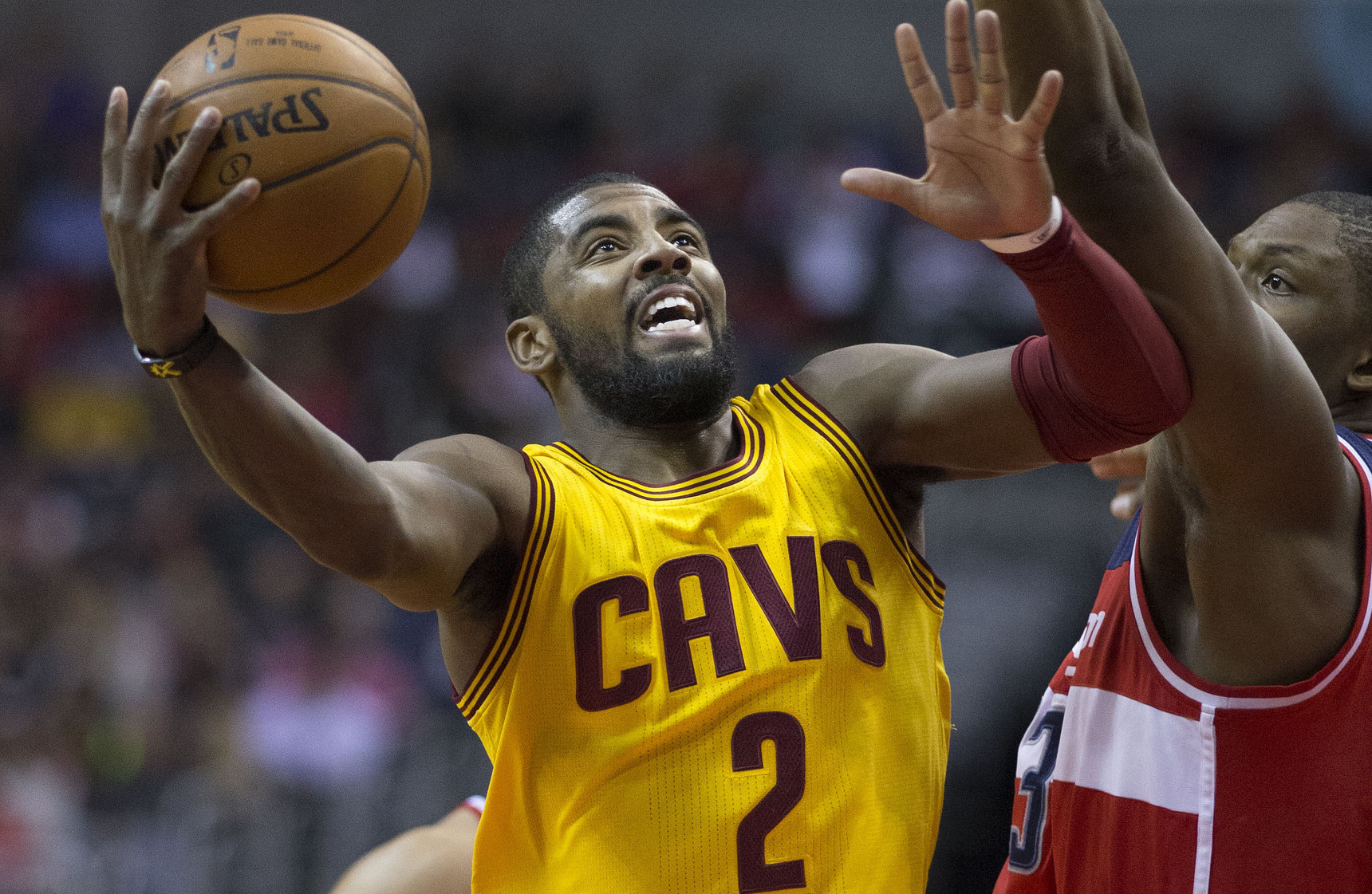 Kyrie Irving, Cleveland Cavaliers, Keith Allison Flickr