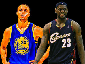 Stephen Curry & LeBron James, Flickr - Eric Whitley