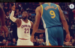 LeBron James - Andre Igoudala - Golden State - Cleveland Cavaliers - Youtube Screendumb