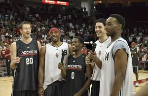 NBA Singing - Houston Rockets