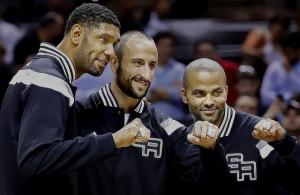 Tim Duncan, Tony Parker, Manu Ginobili, San Antonio Spurs - Jalberto - Flickr