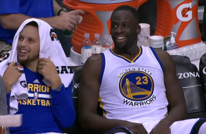 Draymond Green, Stephen Curry, Golden State Warriors - YouTube Screenshot