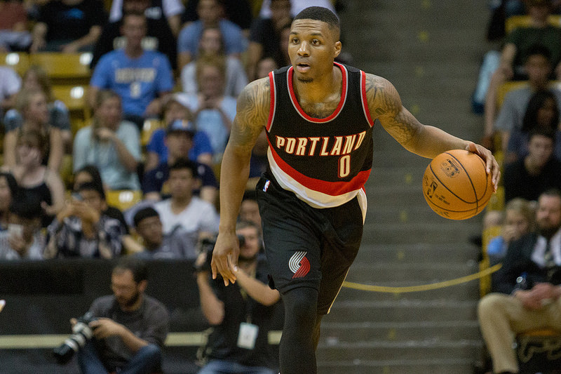 Damian Lillard - Portland Trail Blazers - Flickr - Erik Drost