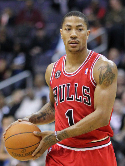 Foto: Derrick Rose - Chicago Bulls, Keith Allison, Flickr
