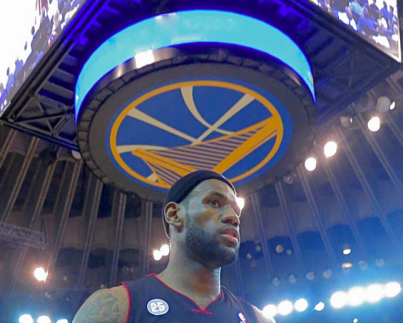 Lebron James, Cleveland Cavaliers, Golden State Warriors, Flickr - Steve Jurvetson