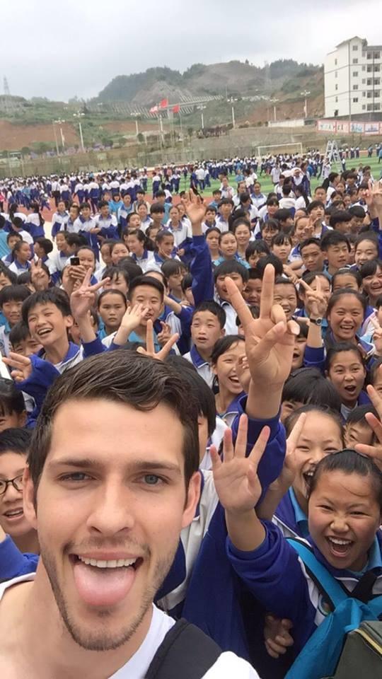 Andreas Meilby i Kina, Nordic-basketball