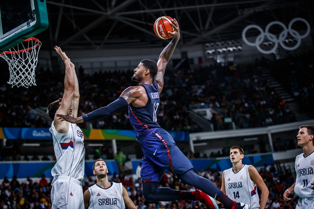 Paul George - USA - OL 2016 - FIBA.com