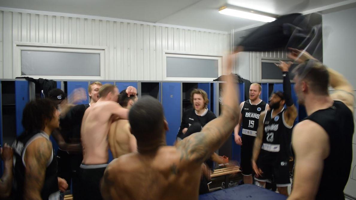 Fullcourt Away i Letland med Bakken Bears